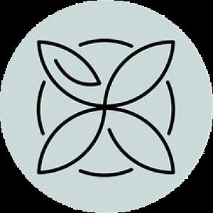 אייקון פרח ועיגול